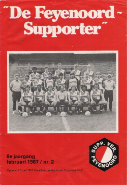 De Feyenoord Supporter 1987