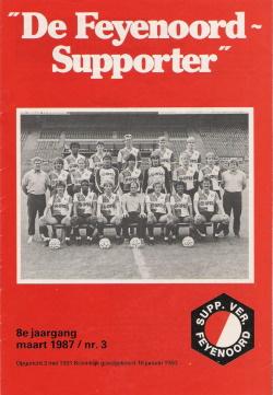 De Feyenoord Supporter Maart 1987