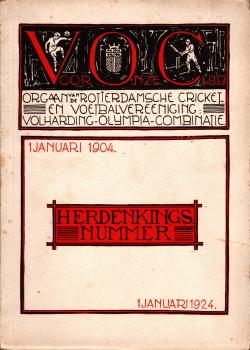 Gedenkboek VOC Rotterdam 20 jaar