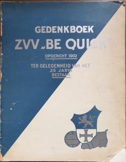 Gedenkboek Be Quick 25 jaar