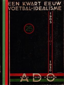 Gedenkboek ADO Den Haag 25 jaar