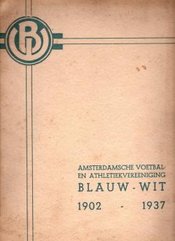 Gedenkboek Blauw-Wit 25 jaar