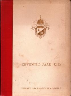 Gedenkboek U.D. 70 jaar