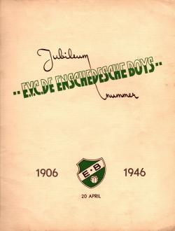 Gedenkboek Enschedesche Boys 40 jaar