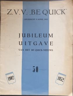 Gedenkboek Be Quick Zwolle 50 jaar