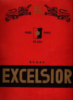 Gedenkboek Excelsior 50 jaar
