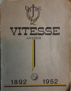 Gedenkboek Vitesse Arnhem 60 jaar