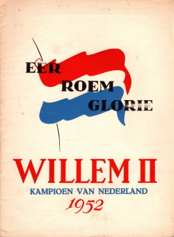 Gedenkboek Willem II kampioen
