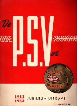 Gedenkboek PSV Eindhoven 40 jaar