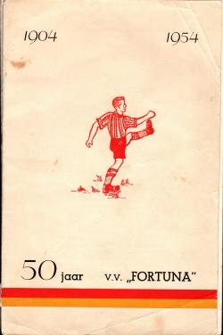 Gedenkboek Fortuna Vlaardingen 50 jaar