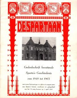 Gedenkboek Sparta Rotterdam 75 jaar