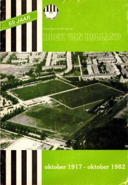 Gedenkboek vv Hoek van Holland 65 jaar