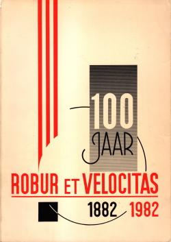 Gedenkboek Robur et Velocitas 100 jaar