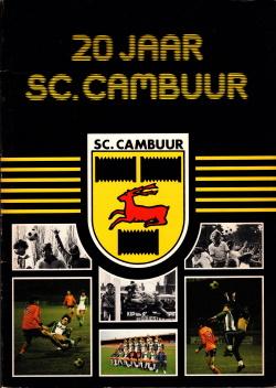 Gedenkboek Cambuur 20 jaar