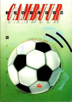 Gedenkboek Cambuur 25 jaar