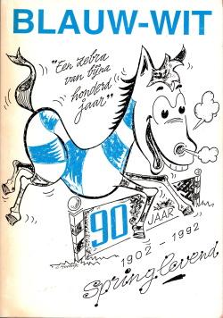 Gedenkboek Blauw-Wit 90 jaar
