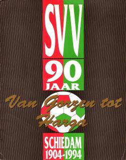 Gedenkboek SVV Schiedam 90 jaar