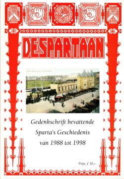 Gedenkboek Sparta 110 jaar