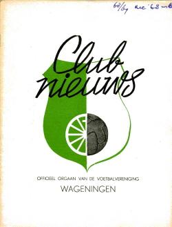 Clubnieuws Wageningen December 1968