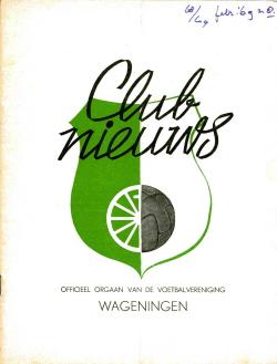 Clubnieuws Wageningen Februari 1969