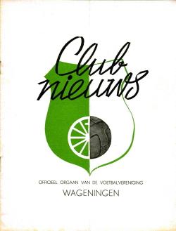 Clubnieuws Wageningen Maart 1969