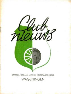 Clubnieuws Wageningen Mei 1969