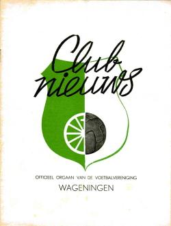 Clubnieuws Wageningen Juni 1969