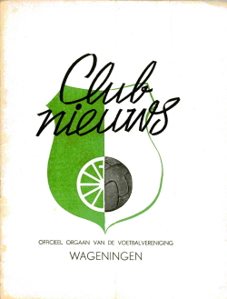 Clubnieuws Wageningen Juli-Augustus 1969