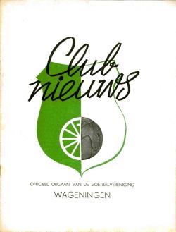 Clubnieuws Wageningen Januari 1970