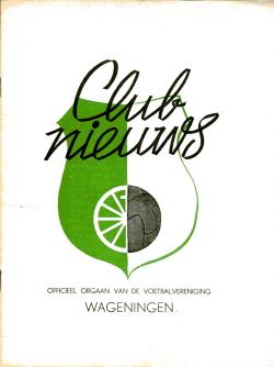 Clubnieuws Wageningen Maart 1970
