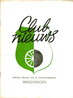 Clubnieuws Wageningen April 1970