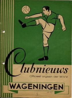Clubnieuws Wageningen September 1947