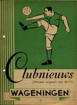Clubnieuws Wageningen Oktober 1947