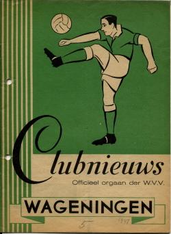 Clubnieuws Wageningen November 1947