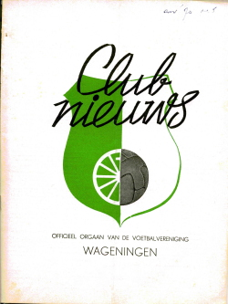 Clubnieuws Wageningen November 1970
