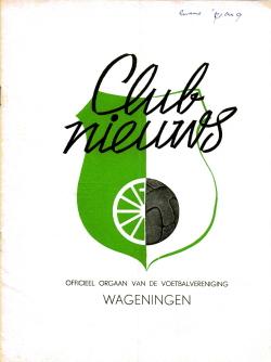 Clubblad Wageningen Maart 1971