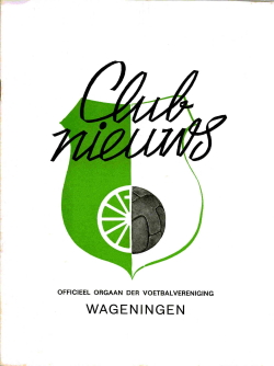 Clubnieuws Wageningen September 1971