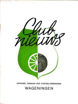 Clubnieuws Wageningen Oktober 1971