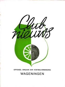 Clubnieuws Wageningen Februari 1972