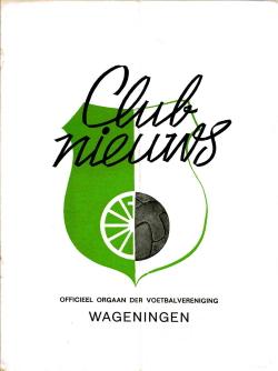Clubnieuws Wageningen Maart 1972