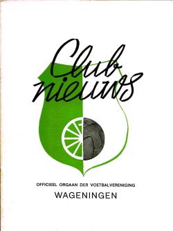 Clubnieuws Wageningen Juni 1972