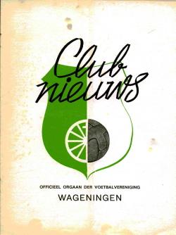 Clubnieuws Wageningen Juli-Augustus 1972