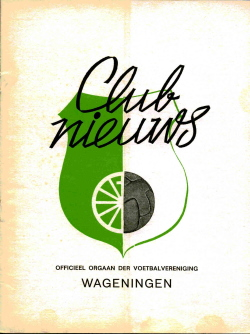 Clubnieuws Wageningen Oktober 1972