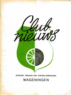 Clubnieuws Wageningen November 1972