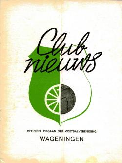 Clubnieuws Wageningen Januari 1973