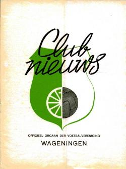 Clubnieuws Wageningen Februari 1973