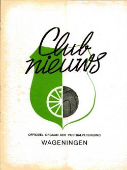 Clubnieuws Wageningen Maart 1973