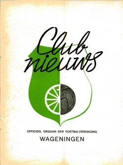 Clubnieuws Wageningen Mei 1973