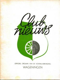 Clubnieuws Wageningen Juni 1973