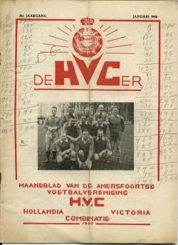 De HVC-er Januari 1956